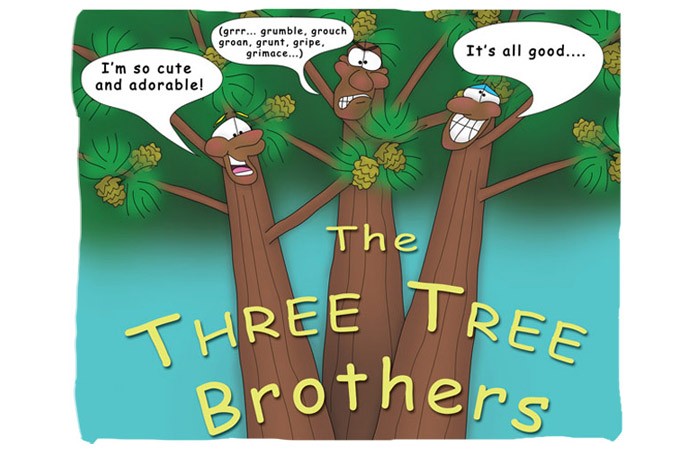 Bizzy Buddies -The Three Tree Brothers - Snails Pace Productions