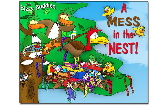 Bizzy Buddies - A Mess in the Nest - Snails Pace Productions