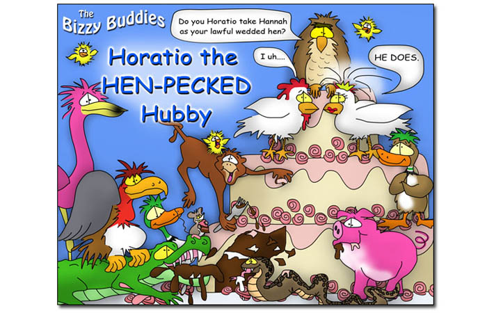 Bizzy Buddies - Horatio the Hen-Pecked Hubby - Snails Pace Productions